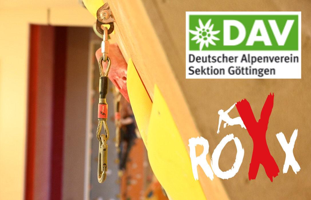 Kooperation DAV Göttingen und RoXx